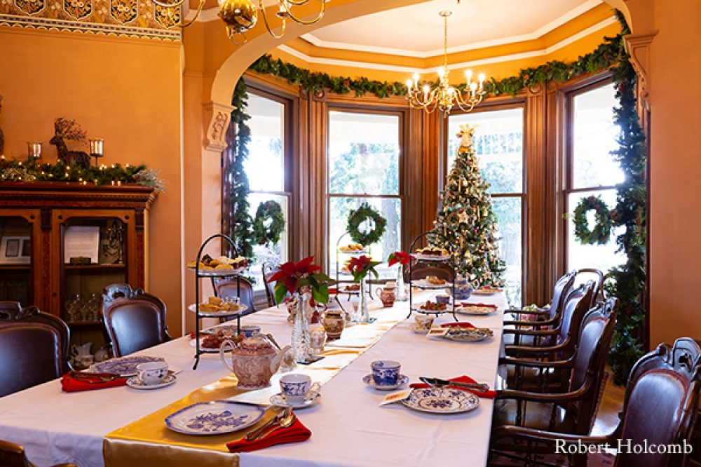 Marshall House holiday tea