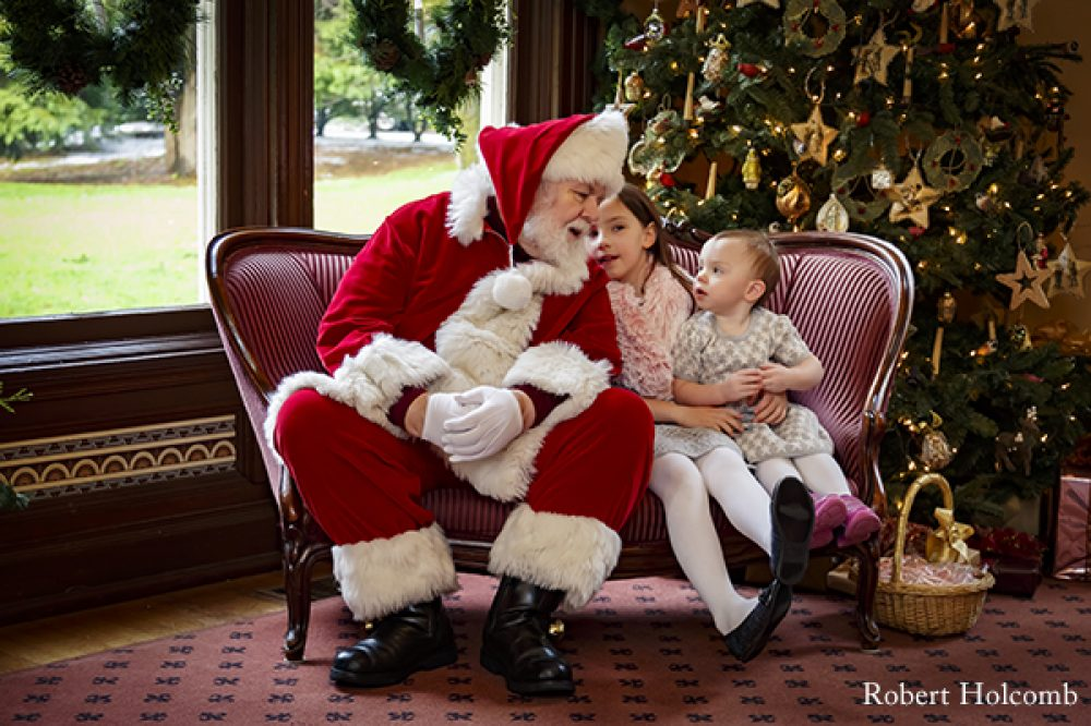 Santa at Marshall House