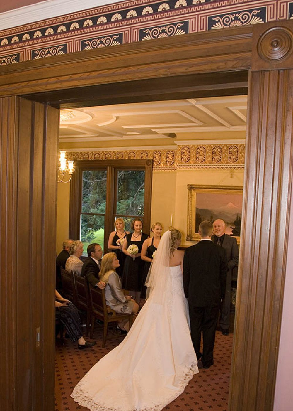 Marshall House wedding