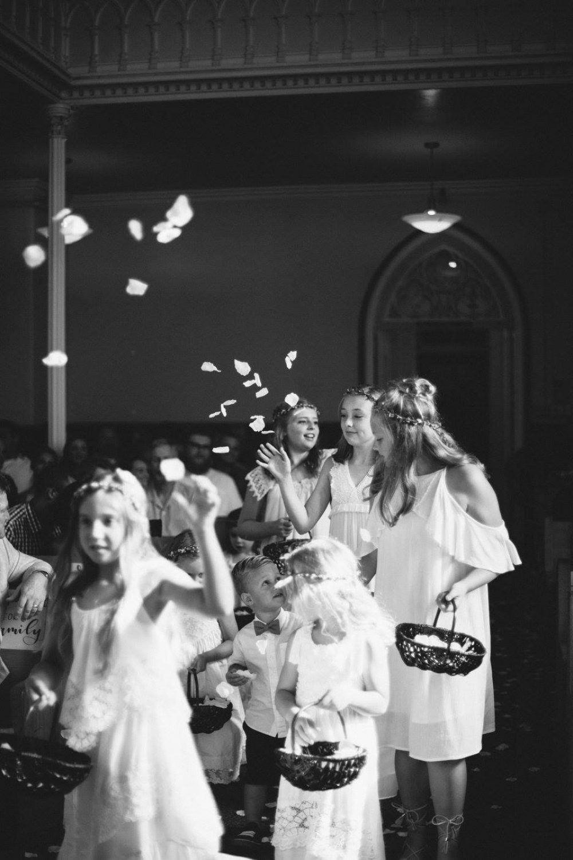 providence academy wedding party