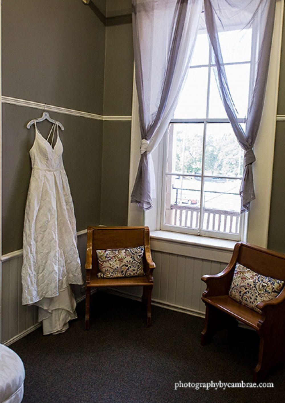 Providence Academy bride room